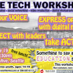 Free technology/social networking workshop for youth (14-19): June 19