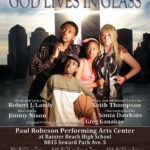 God Lives in Glass premier performances this weekend!