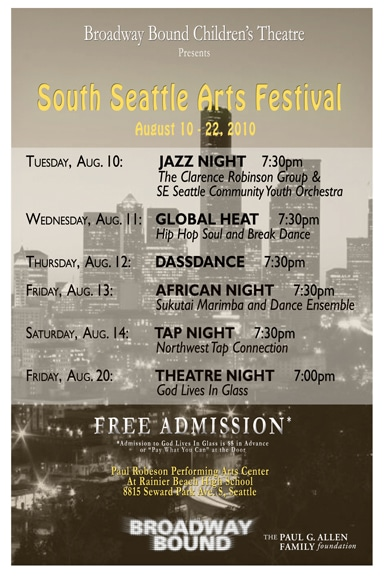 South Seattle Arts Festival Poster