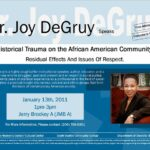 Historical Trauma on the African American Community, Jan. 13