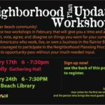 Planning Outreach Liaison Meetings scheduled for African Americans in Rainier Beach, Feb. 17 and 24
