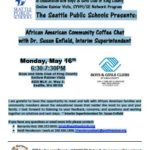 African-American Community Coffee Chat with Dr. Enfield, May 16