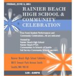 Community Celebration, Rainier Beach High School, 6/3
