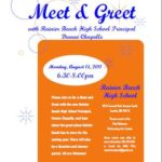 RBHS PTSA Invites You to Meet New Principal, Dwane Chappelle, Aug. 15