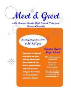 Meet and Greet Invitations
