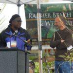 Rainier Beach Urban Farm Breaking Ground Event draws over a hundred people!