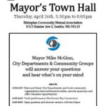 Report on Mayor's Town Hall in Rainier Beach April 26, 2012