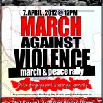 Join Betty Patu in a March Against Violence