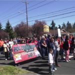 Rainier Beach Marches Against Violence April 7, 2012