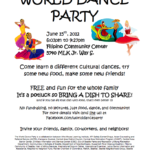 World Dance Party June 15, 2012