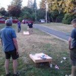 Rainier Beach Community Club Picnicing at Beer Sheva