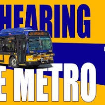 Public testimony on potential cuts in transit service, May 14!