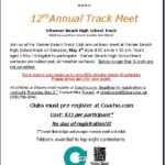 12th Annual Rainier Beach Invitational Track Meet, Saturday, May 4!