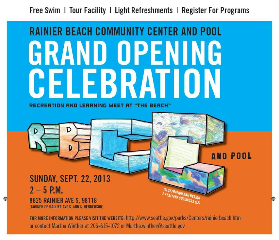 grand opening rainier pool
