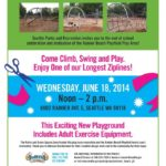 Rainier Beach Playfield Play Area Dedication June 18 noon-2 p.m.