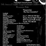 Youth Empowerment Conference 2014, June 7, at Rainier Beach High School