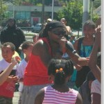 Mike Day thrills Back2School Bash youth