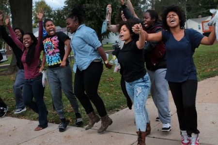 On Ferguson, 60 southend Seattle children who could hang with the CNN big-whigs