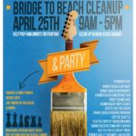 Rainier Beach Bridge To Beach Cleanup, April 25, 9am to 5pm