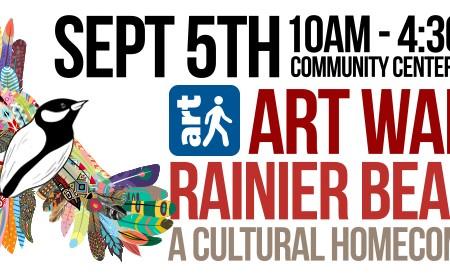 Artwalk Rainier Beach - 5th Year of making Rainier Beach the Art Center of the World!