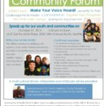 SE Seattle Community Forum: Make Your Voice Heard, Oct. 27