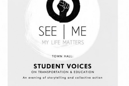 Student Voices on Transportation and Education Oct 22 Paul Robeson PAC, 6 pm