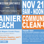 Rainier Beach Community Clean Up!