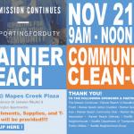 Rainier Beach Community Clean Up!