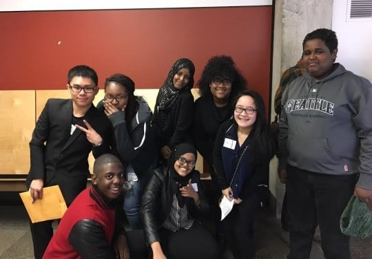 Ethics Bowl Win for Rainier Beach High School Feb 2016