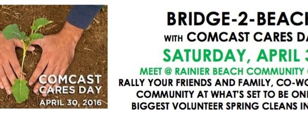 Bridge to Beach & Comcast Cares Day!