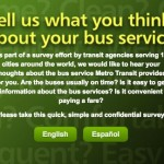 Metro Transportation Survey