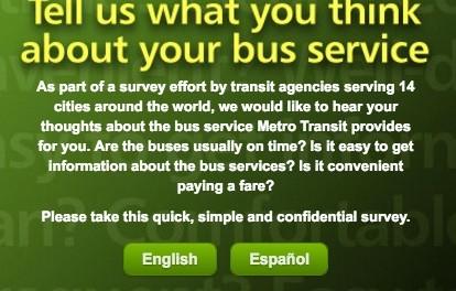 Metro Transportation Survey