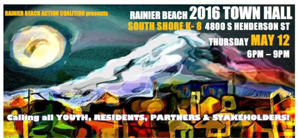Annual Rainier Beach Town Hall Meeting 2016!