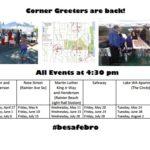 Weekly Corner Greeter New