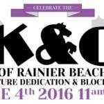 K & Q of Rainier Beach Sculpture Dedication