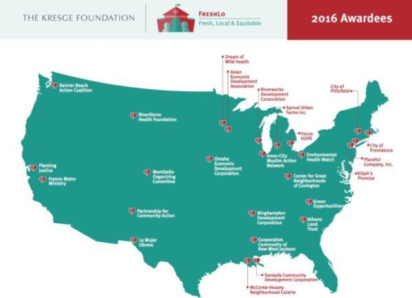 """Rainier Beach neighborhood development organization gets Kresge Foundation FreshLo Grant Award"""