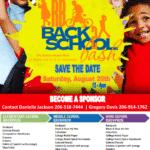 "Save Date!  Back 2 School Bash-  ""Sponsors"""