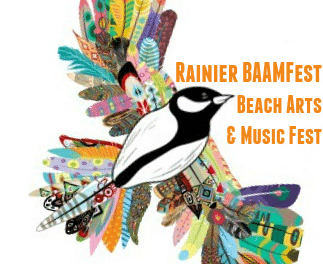 Save the Date Rainier BAAM Fest Beach Arts & Music Fest