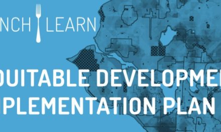 Show Your Support at the Equitable Development Lunch & Learn
