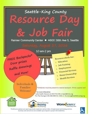 Seattle King County Resource & Job Fair