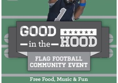 Good  in the Hood Flag Football Flag Football Community Event!