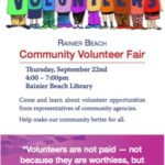 Rainier Beach Community Volunteer Fair