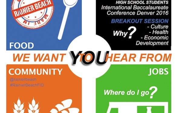 Rainier Beach Roaming Town Hall Meeting: The Food Innovation Center