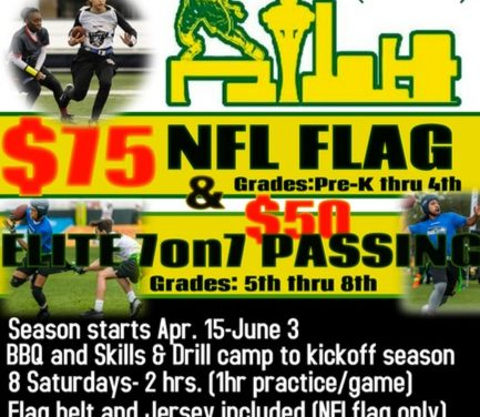 Register for NFL Flag Football!