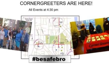 Looking for you at Corner Greeter Events!