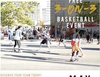 3 on 3 Basketball Tournament!