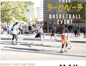 3 on 3 Basketball Tournament!