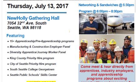 Apprenticeship and Pre-apprenticeship Opportunity Fair