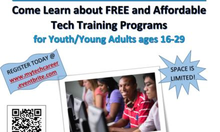 Youth & Young Adults in Tech Jobs Event