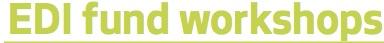 Equitable Development Initiative Fund Workshops!